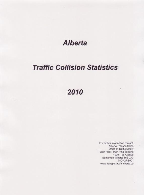 2010 Collision Statistics 2