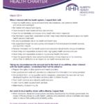 Alberta's Health Charter