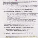 DriveABLE Pre-Assessment Information