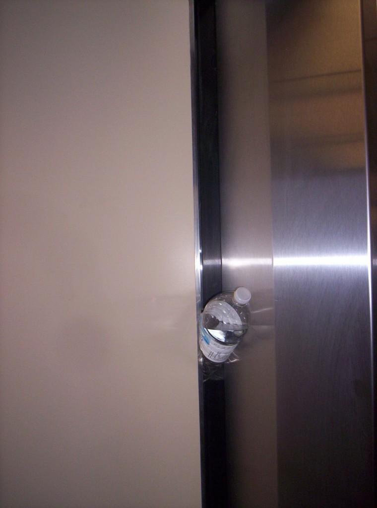 Elevator closing 1