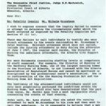 Kronshage Inquiry Perjury
