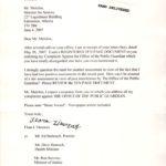 Formal Complaint Filed by Flora L'Heureux
